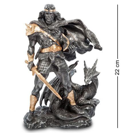 Статуэтка Викинг и Дракон WS- 38