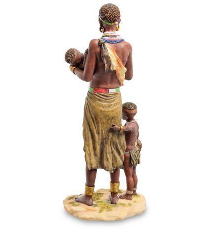 """Статуэтка """"Африканка с детьми"""" WS-728"""