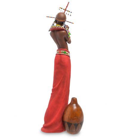 "Статуэтка ""Девушка племени Масаи"" WS-730"