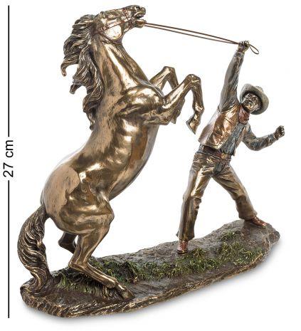 Статуэтка Ковбой, укрощающий лошадь WS-882
