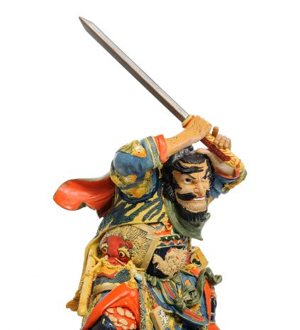 "Статуэтка ""Японский воин Gyokukirin Roshungi"" pr-KU01"