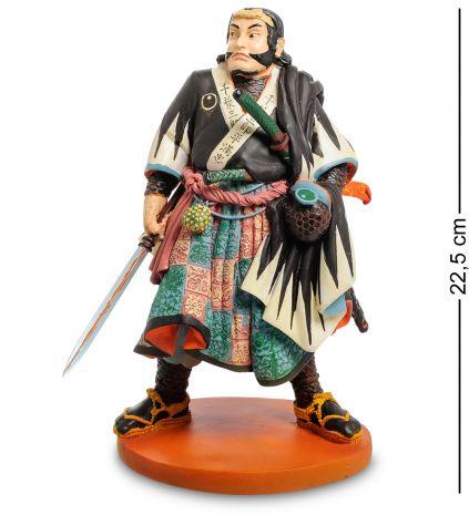 "Статуэтка ""Японский воин Chiba Sabrohei Mitsutada"""