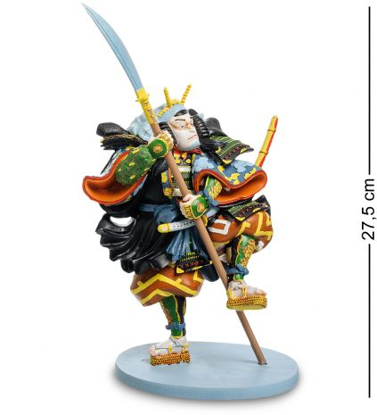 "Статуэтка ""Японский воин Kabuki: Ichikawa Kodani IV"" pr-KUN01"