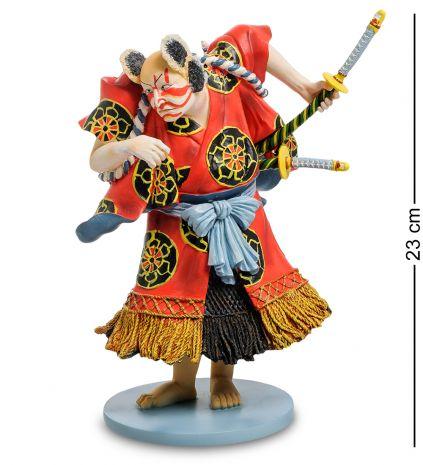 Статуэтка Японский воин Kabuki: Bando Kamezo pr-KUN02