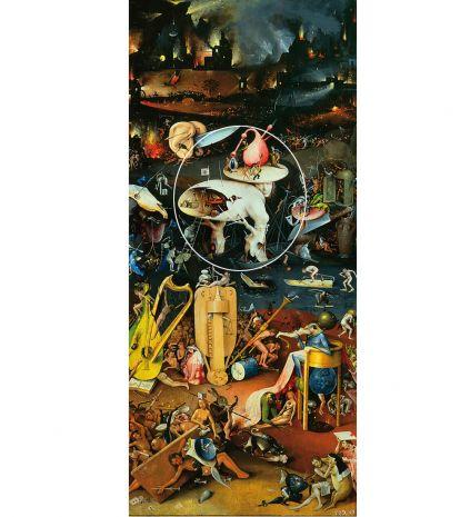 """Фрагмент триптиха """"Сад земных наслаждений"""" (И.Босх) pr-JB01"""