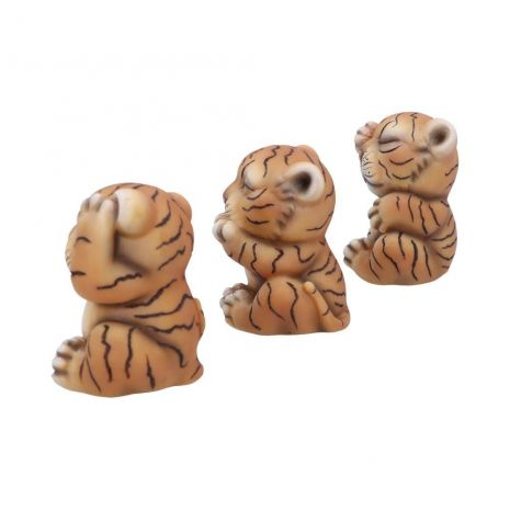 """Набор фигурок """"Три мудрых тигренка"""" U4948R0"""