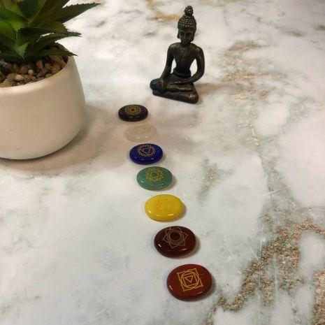 Набор чакровых камней (7 камней) SE-127