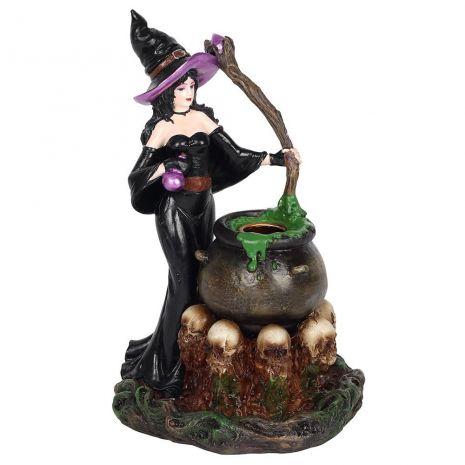 """Подставка для благовоний """"Ведьма с котлом"""" BF_75638"""