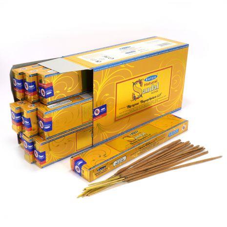Благовония Satya Natural Sandal Сандал 450NCha