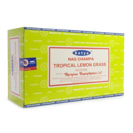 Благовония Satya Tropical Lemongrass Лимонник 450TrL
