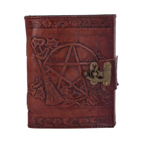 """Книга теней """"Пентаграмма"""" (нат.кожа) А5 D1021C4"""