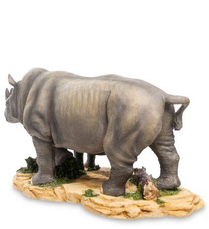 """Статуэтка """"Носорог с детенышем"""""""