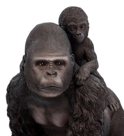 Статуэтка Горилла с детенышем