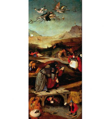 Фрагмент триптиха Искушение св. Антония (Затворник) (И.Босх) pr-JB18