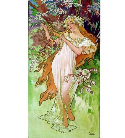Статуэтка Девушка Весна (Альфонс Муха) pr-MUC04