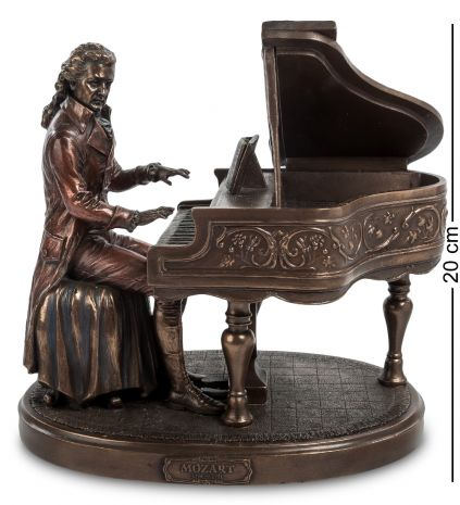 """Статуэтка """"Моцарт за роялем"""" WS- 65/ 1"""