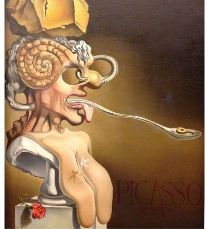 """Статуэтка """"Портрет Пикассо"""" (Сальвадор Дали) pr-SD06"""