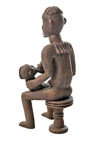 """Статуэтка """"Африканская женщина бангва, мать близнецов"""" MU-015"""