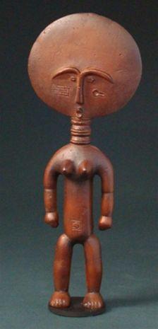 Статуэтка плодородия племени Ашанти MU-016