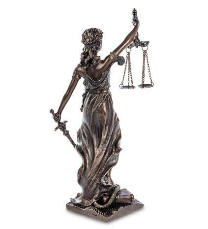 Статуэтка Фемида - богиня правосудия WS-655/ 1