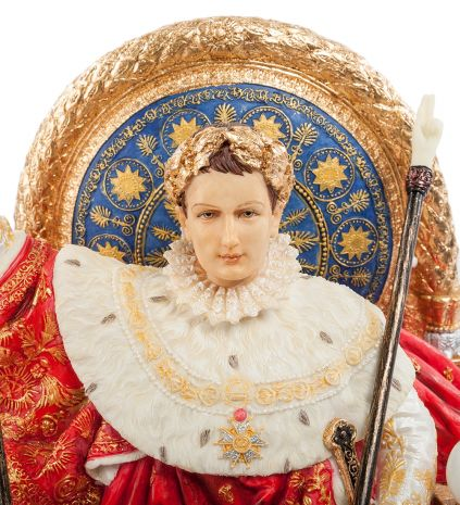 Статуэтка Наполеон на императорском троне (Жан Огюст Доминик Энгр) WS-726