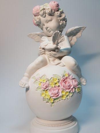 Статуэтка Ангел на шаре BA-019