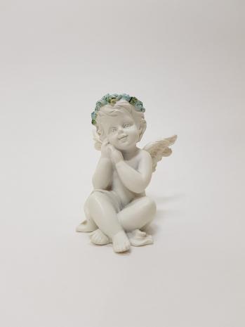 Статуэтка Сидящий ангелочек BA-023