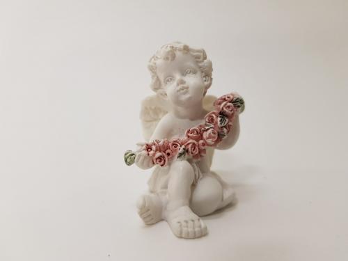 """Статуэтка """"Ангелочек с розами"""" BA-024"""