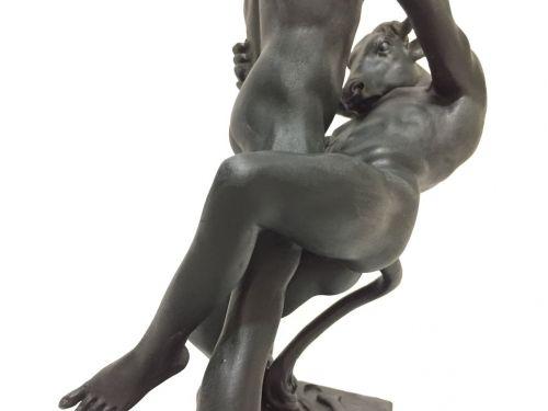 Статуэтка Тесей убивает минотавра (Антуан-Луи Бари) BA-044