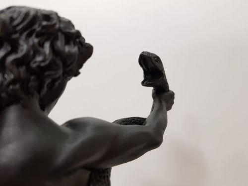 """Статуэтка """"Атлет, борющийся с питоном"""" (Фредерик Лейтон) BA-048"""