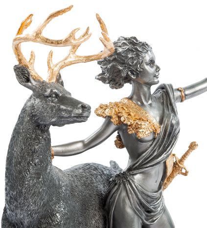 Статуэтка Артемида - Богиня охоты WS- 10