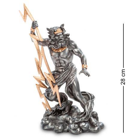 Статуэтка Зевс - Громовержец с молнией WS- 04