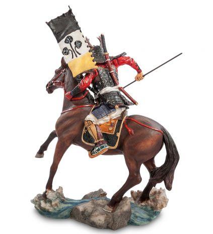 "Статуэтка ""Самурай на коне"" WS-742"