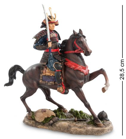 Статуэтка Самурай на коне WS-756