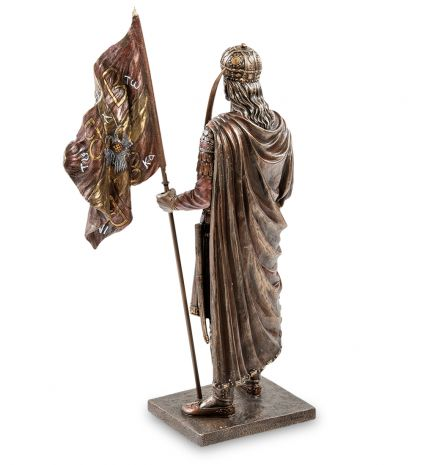 """Статуэтка """"Константин XI Палеолог Драгаш — последний византийский император"""" WS-922"""