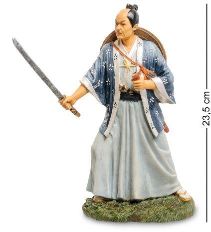 Статуэтка Самурай с мечом WS-754