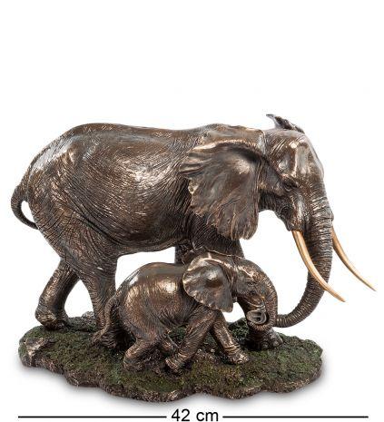 Статуэтка Слон с детенышем