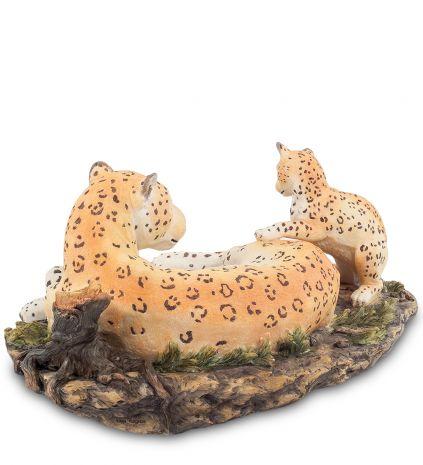 Статуэтка Леопард с детенышем