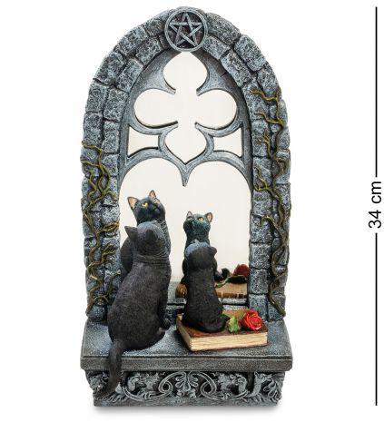 """Статуэтка """"Кошка с котенком у зеркала"""""""