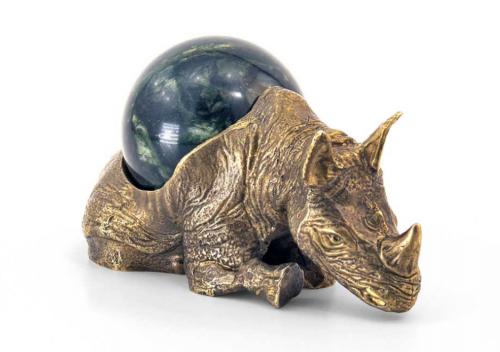 Подставка с шаром «Носорог»