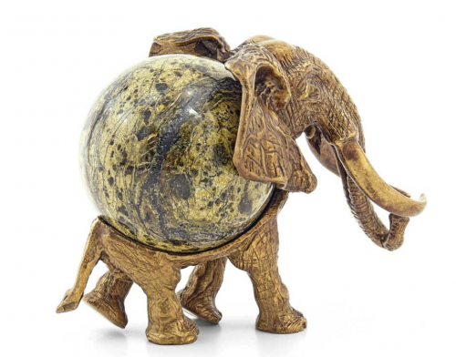 """Статуэтка """"Слон с шаром"""""""