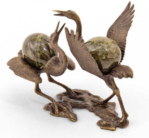 Статуэтка «Танцующие журавли»