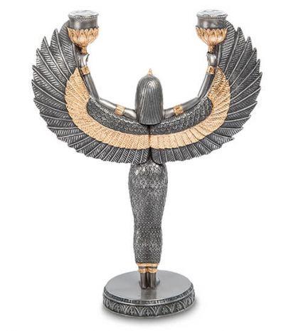 """Подсвечник """"Исида - богиня материнства и плодородия"""" WS-491"""
