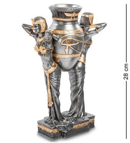 Статуэтка Египтянки с вазой WS-490