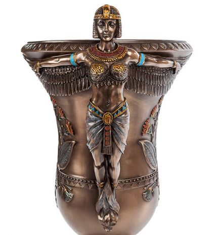 Ваза в стиле Ар-деко Египетские богини WS-668