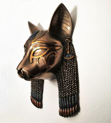 Панно Египетская богиня-кошка Бастет MU-024