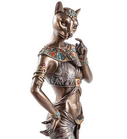 """Статуэтка """"Баст - богиня любви, красоты и домашнего очага"""" WS-569"""