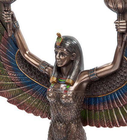 """Подсвечник """"Исида - богиня материнства и плодородия"""" WS-491/ 1"""