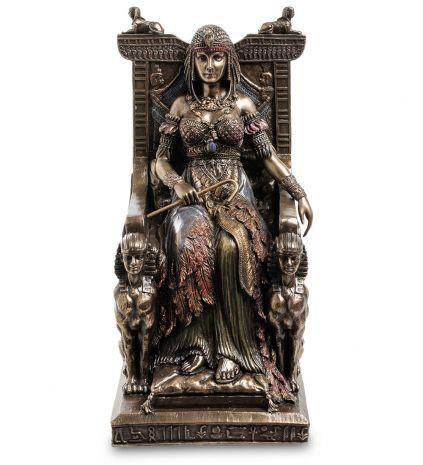 Статуэтка Египетская царица на троне WS-468