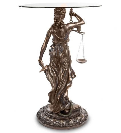 Подставка Фемида - богиня правосудия WS-651